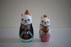 木村幸世(KIMURA&Co.)|猫雛土鈴