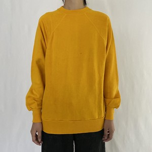 70-80's pannill | yellow sweat