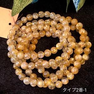 キラリ☆ゴールドルチルブレスレット/タイプ2番-1