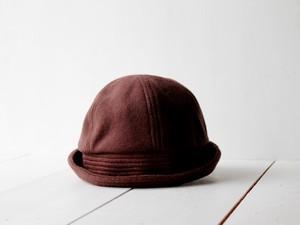 SAILOR HAT | CASHMEREWOOL c/#CHOCOLATE【M:56~59cm】
