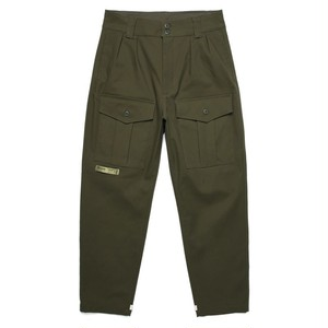 WIDE WORK PANTS / OLIVE