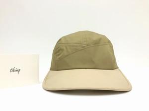 【thinq】Cross-A Jet Cap (beige)