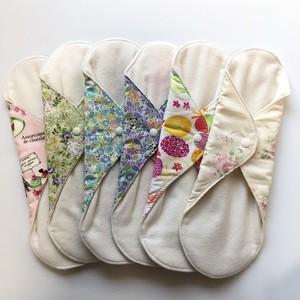 ローズの香り(オフホワイト)布ナプキンL size