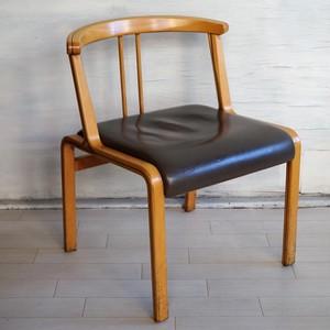 銀座凮月堂 天童木工 椅子(2)オリーブグリーン