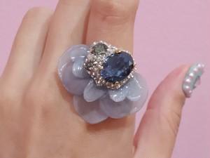 【リング.20】phantomFLOWER crystal