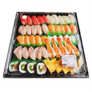 コストコ 寿司ファミリー盛48貫 ワサビ抜き(ネタは季節によって入れ替わります) | Costco family sushi 48 pieces no-wasabi (neta are swapped depending on the season)