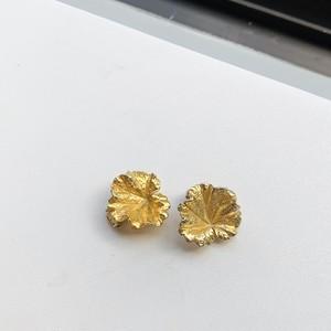NAPIER ネイピア シルバー925・GOLD LEAF イヤリング