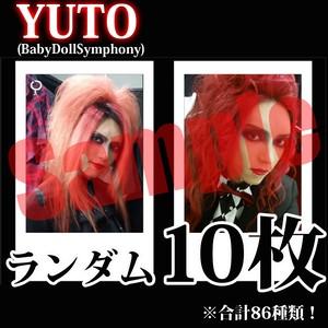 【チェキ・ランダム10枚】YUTO(BabyDollSymphony)