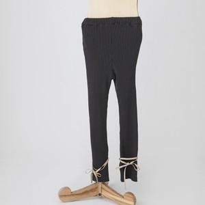 folk made  knit ribe leggings S/M/L (charcoal gray) F21AW-029 ※メール便1点までOK