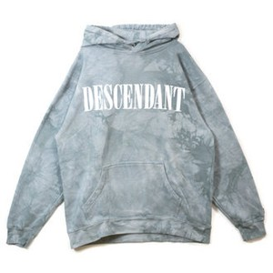 DESCENDANT BLEACH / TIE DYE HOODED SWEATSHIRT / 172TNDS-CSM01S