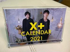 2021年X+卓上カレンダー