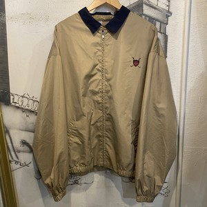 POLO GOLF polyester zip-up jacket