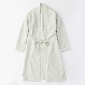 CO-12 伊達羽織長丈 変わり織 銀鼠