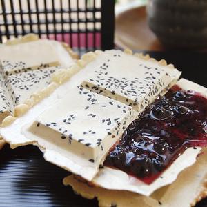 カシス飴煎餅【5枚セット】