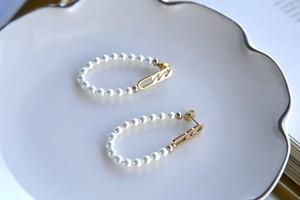 Chain metal & pearl