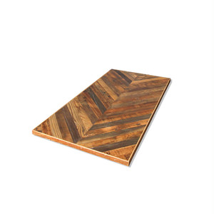 受注生産品 Reclaimed Table Top -Chevron Top- 600x1200
