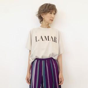 """MICA&DEAL (マイカ&ディール) """"LAMAR""""ヘムラウンドTシャツ 012120906803"""