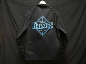 【ERRORS】LOGO COVERALL JACKET