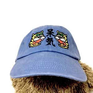 【ラスト】猛虎の呆気帽(ブルー)