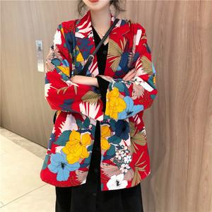 赤のレトロなスーツジャケット