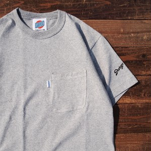 【予約受付中】【DARGO】Standard Pocket T-shirt (HEATHER GRAY)