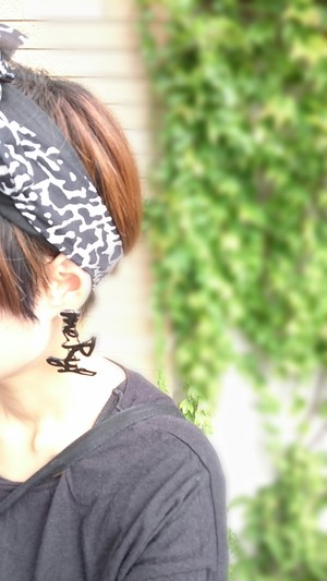 【オーダーメイド】message* pierce/earring
