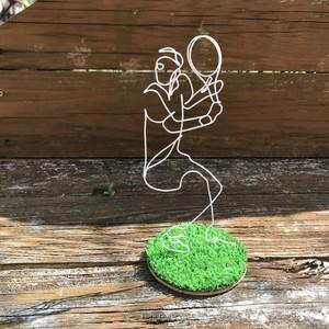芝の上の人々[テニスプレーヤー]