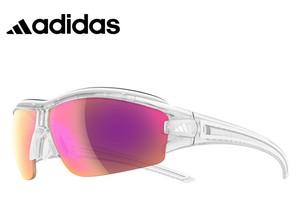 アディダス レディース 調光サングラス [ adidas a198 6097 EVIL EYE HALFRIM PRO S ] 女性用 Lサイズ スポーツサングラス 自転車 登山 ランニング 調光レンズ ミラーレンズ サングラス