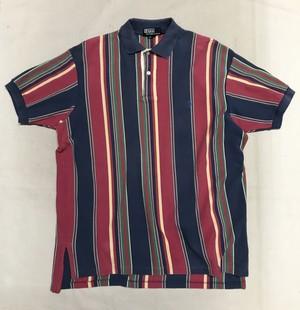 Polo Ralph Lauren ポロシャツ L マルチストライプ MADE IN USA