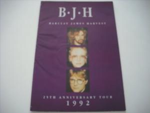 【パンフレット】BARCLAY JAMES HARVEST / 25TH ANNIVERSARY TOUR 1992