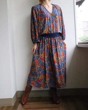 70's Diane Freis multicolor dress
