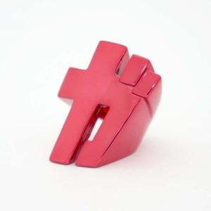 効果音リング『ガ』 カラー赤