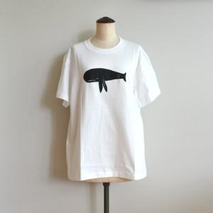 長沢明 Tシャツ クジラ