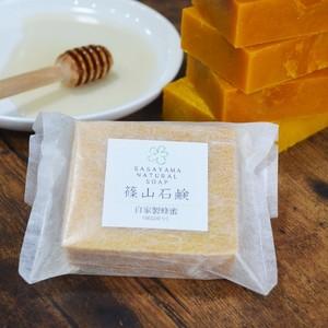 篠山石鹸 自家製蜂蜜 (1個)