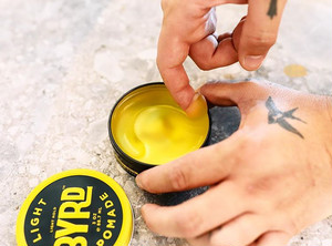 70g LIGHT POMADE by BYRD