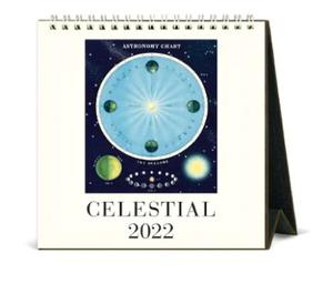 【予約商品】Cavallini 2022 Calendars/天体 デスクカレンダー