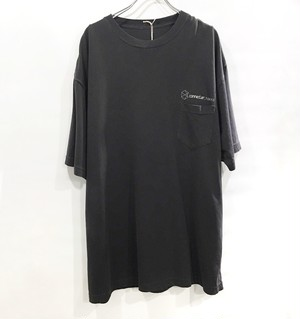 connecter Tokyo original pocket tee (old black)