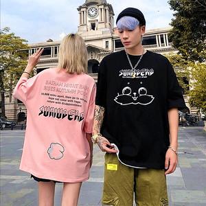 【トップス】男女兼用アニメ図柄簡約・シンプルカジュアルTシャツ28940357