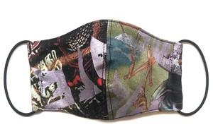 【COTEMER マスク 日本製】BAND PRINT MASK M0412041