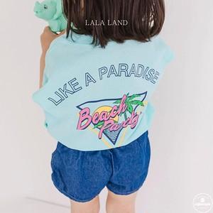 «sold out» LALA LAND beach sleeveless 3colors ビーチノースリーブ