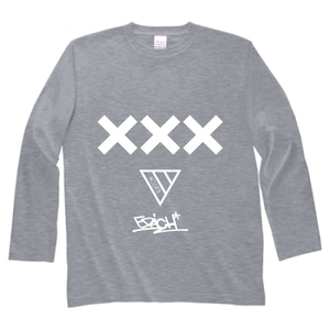 ERICH / XXX LONG SLEEVE T-SHIRT GRAY