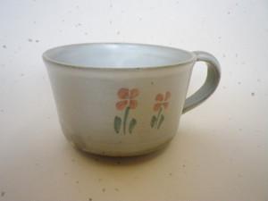 マグカップ(花:子供の器)