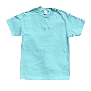 Boy≒Girl Logo s/s tee(Mint)