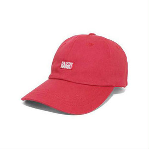 "HAIGHT(ヘイト)""BOX LOGO BALL CAP""[RED]"