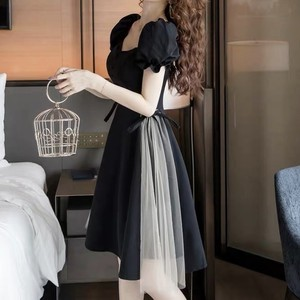 side tulle dress