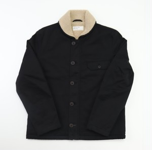 【Universal Works.】N-1 Jacket In Black Twill