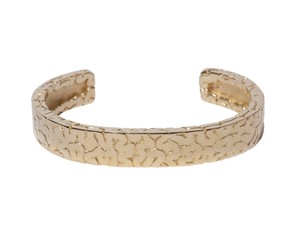Board Brain Bangle  Gold-Coating
