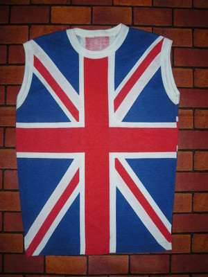 80'S UNION JACK NO SLEEVE