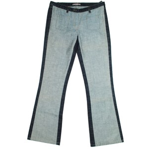 『Sabotage』90s 2-tone flare jeans *deadstock