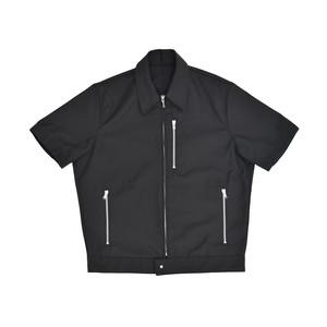 Allege Half Sleeve Blouson Black  AL19S-BL05